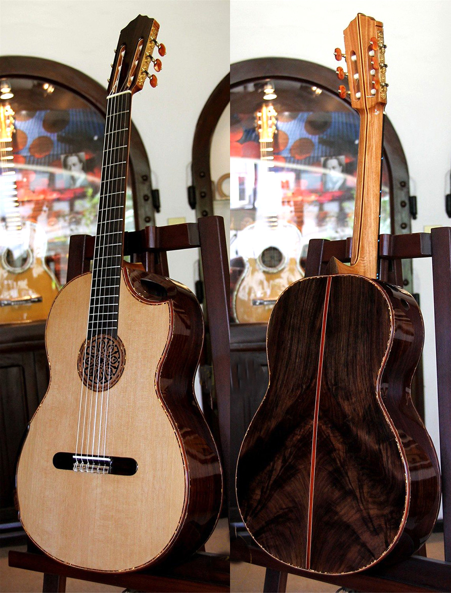 "Indonesian Rosewood B&S, Limited Edition Series ""Da Vinci Series"", MODEL IRC16"