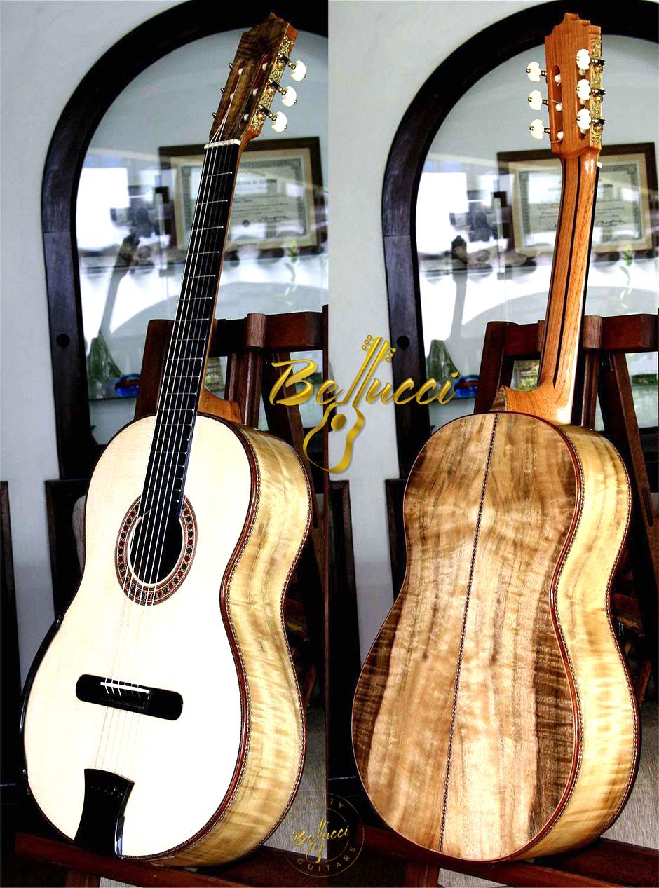 California Laurel B&S, Italian Spruce top, Limited, MODEL BFL115