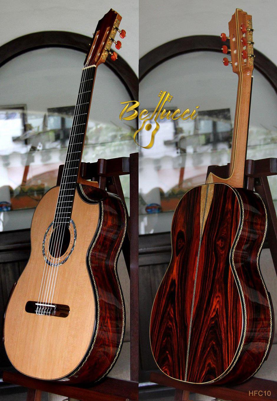 Cocobolo B&S Cedar Top, Doubletop, Indented Cutaway, Buy Model HFC10