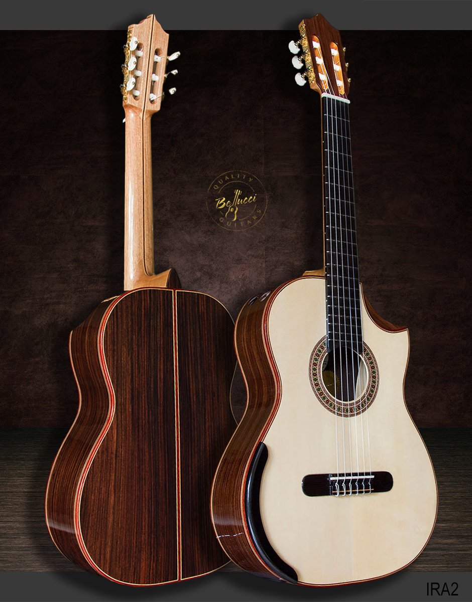 Indian Rosewood B&S, Italian Spruce top, Order IRA2 Model HERE>>