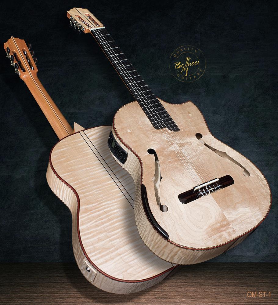 All Maple B&S, Stradivarius Model Doubletop, Model QM-ST-1