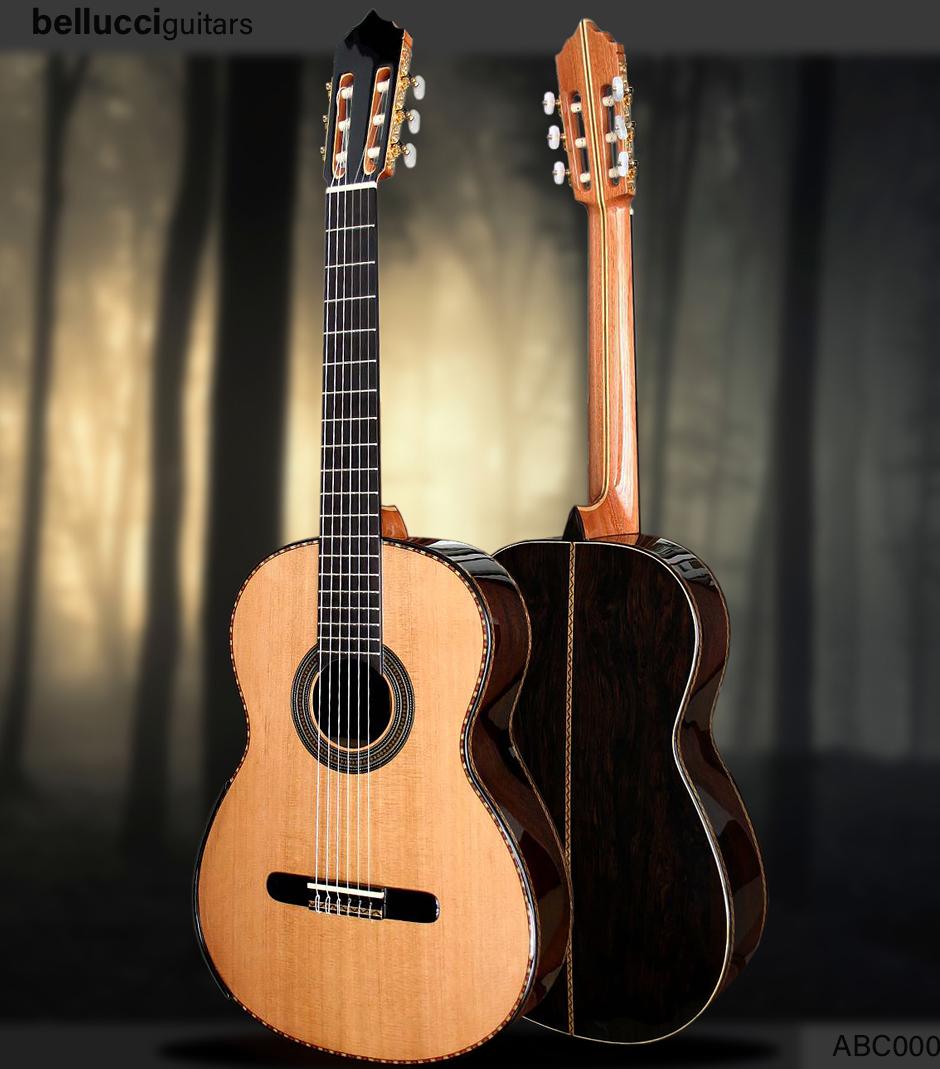 "Blackwood B&S Cedar top, Model ABC001. Order ""The King"" Guitar HERE>>"