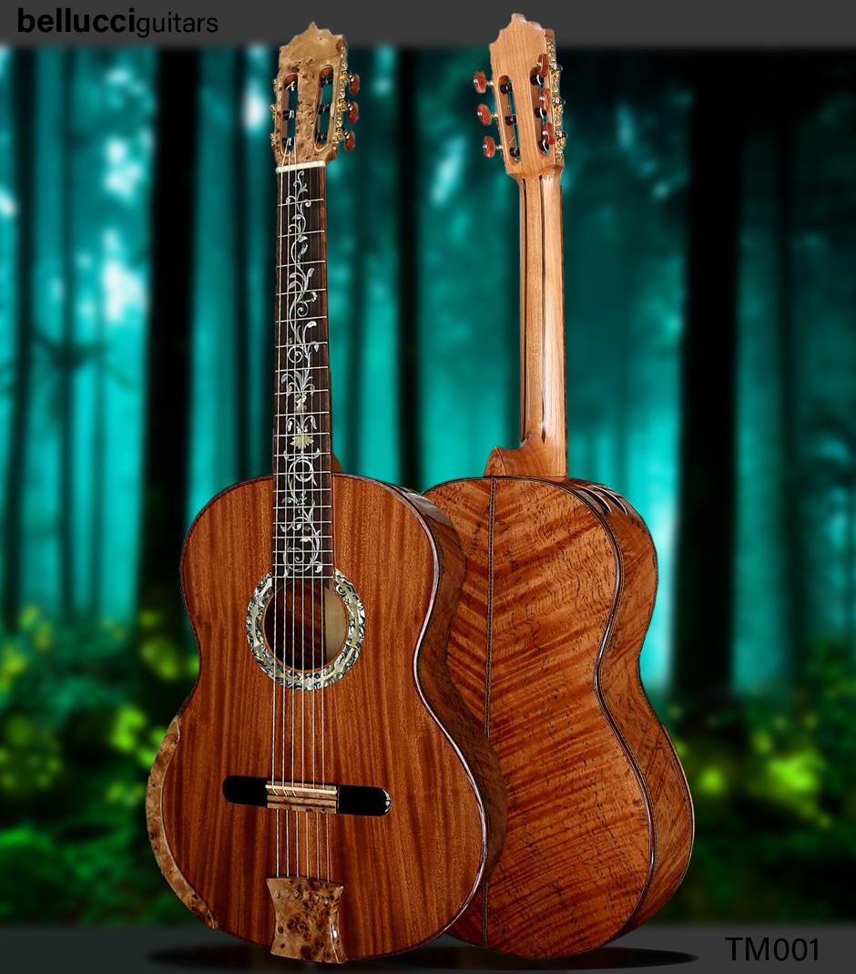 Tiger Myrtle B&S Spanish Cedar top, Model TM001, Order HERE>>