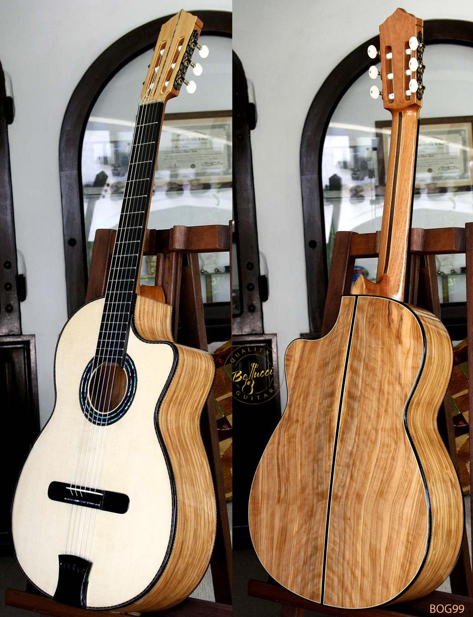 Bellucci White Oak B&S, Italian Spruce top, MODEL BOG99