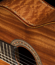 Bellucci Guitars | Waterfall Bubinga back and sides, Spanish Cedar top Concert Classical Guitar