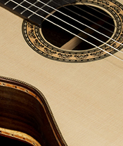 Bellucci Guitars | Brazilian Rosewood back and sides, Spruce top Concert Classical Guitar