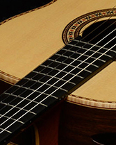 Bellucci Guitars | African Walnut back and sides, Spruce top Concert Classical Guitar