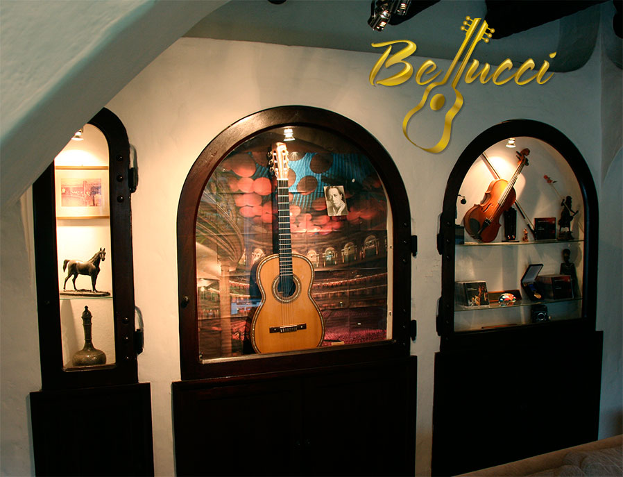Bellucci guitars studio