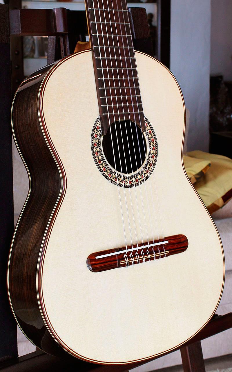 Mangore Bellucci Guitars 8 Strings Concert Classical