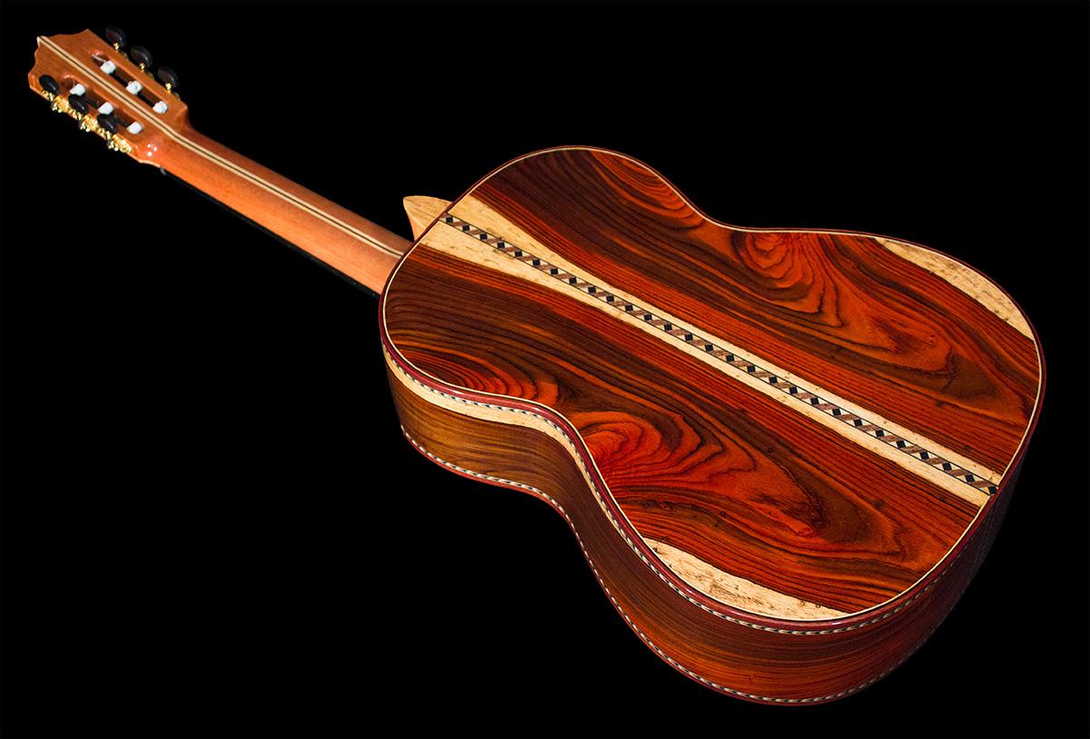 Mangore Bellucci Guitars Highly Figured Cocobolo B Amp S