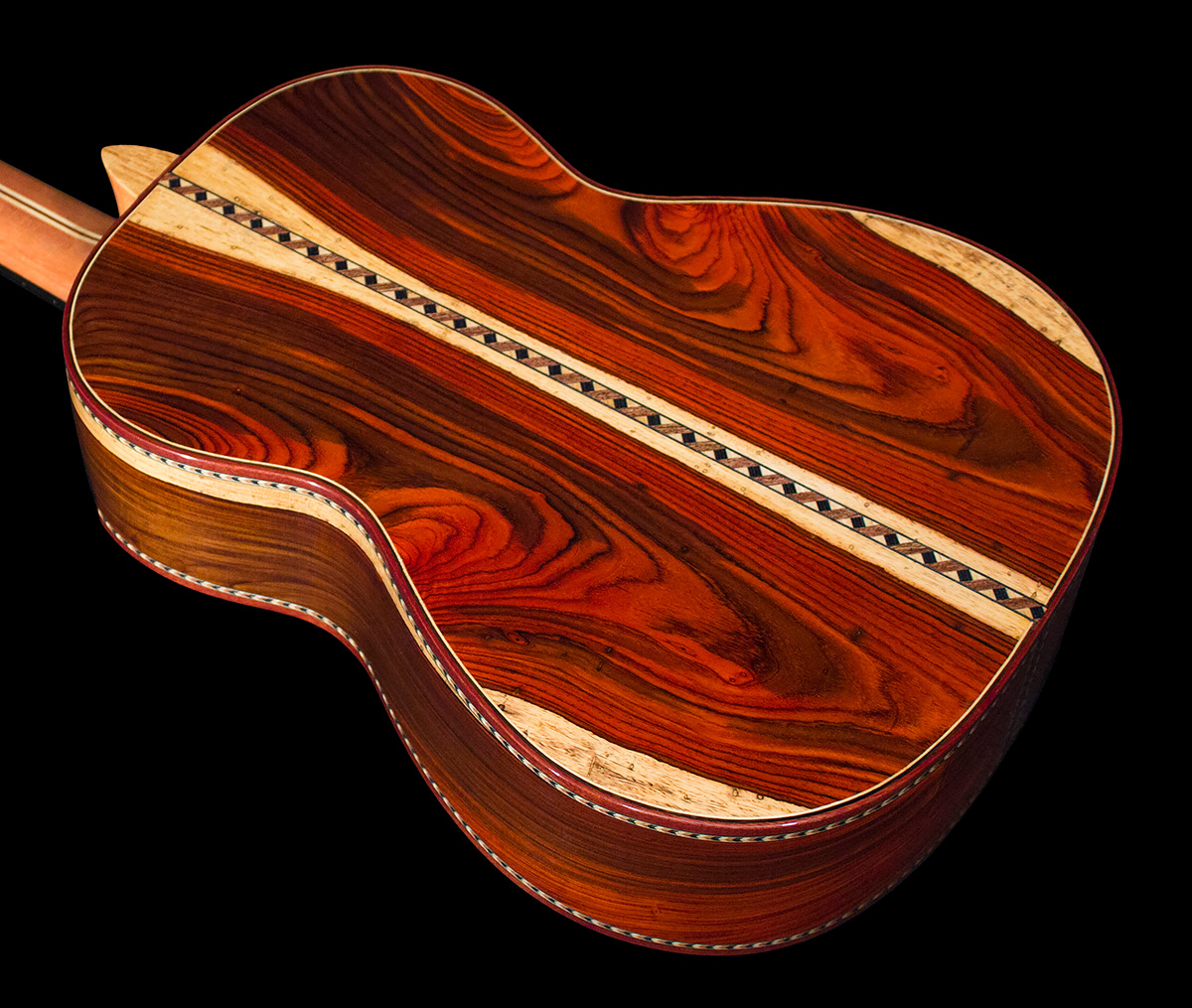 Mangore Bellucci Guitars Highly Figured Cocobolo B Amp S