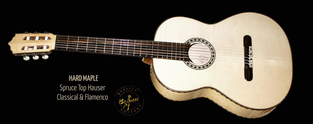Mangore Bellucci Guitars Hard Maple B Amp S Spruce Top