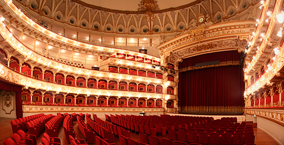 Teatro Piccinni, Bari Italy. I made my debut here  at age 9.