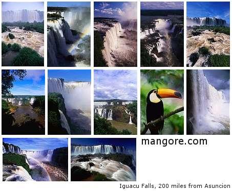 Iguacu 滝
