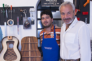 Renato Bellucci New Bellucci guitar