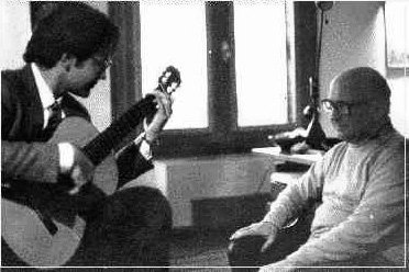 Renato Bellucci with Narciso Yepes