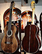 Indian Rosewood B&s, Curly Sinker Redwood top Concert Classical Guitar