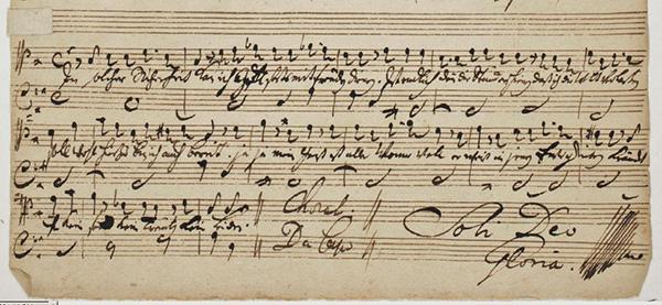 JS Bach, S.D.G.