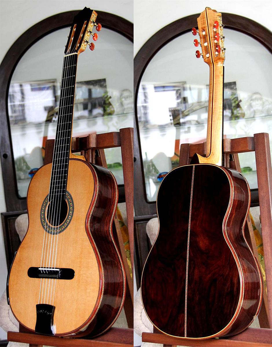 Brazilian Rosewood B&S, Order Cedar Top, Order MODEL BRC14