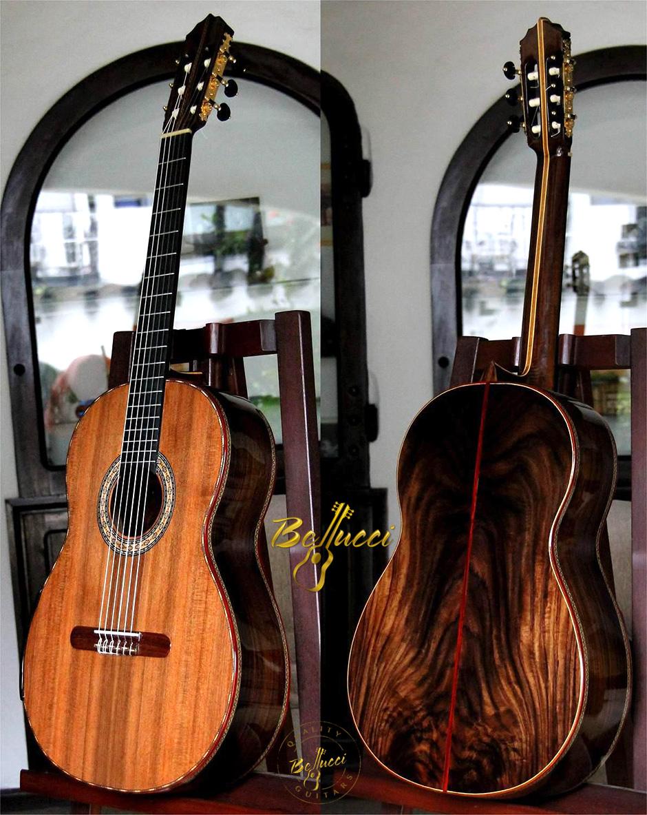 Bellucci Indonesian Rosewood B&S, Sinker Redwood Top, MODEL FIR106