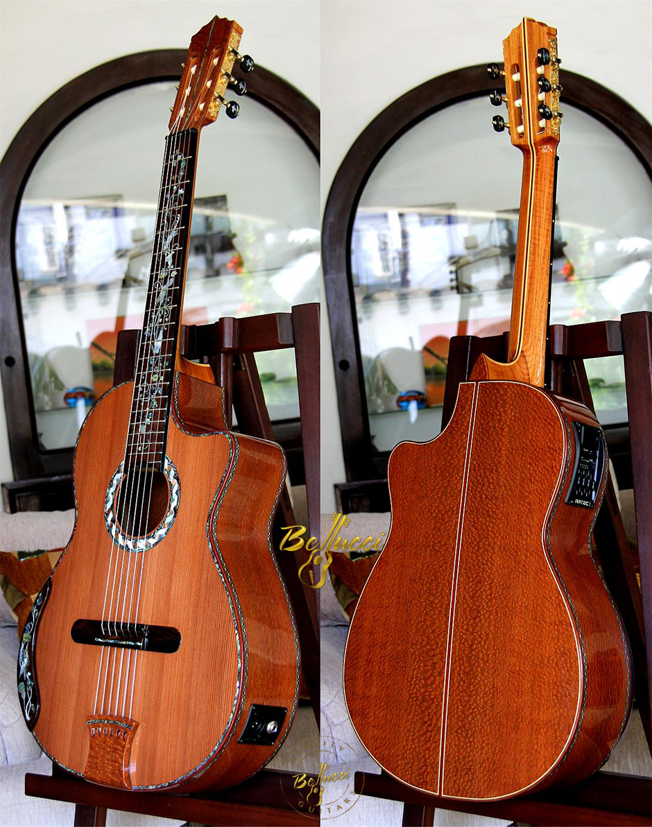 Lacewood B&S, Sinker Redwood Top, Limited Edition, Order Model BSR26 HERE>>