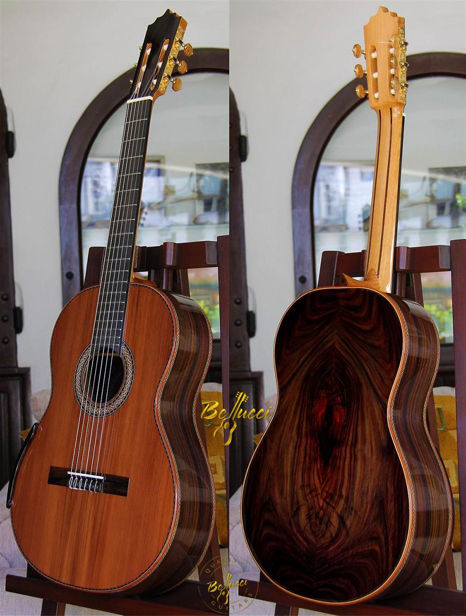 Indonesian Rosewood B&S, Cedar Top, Order Model HFIR3 HERE>>