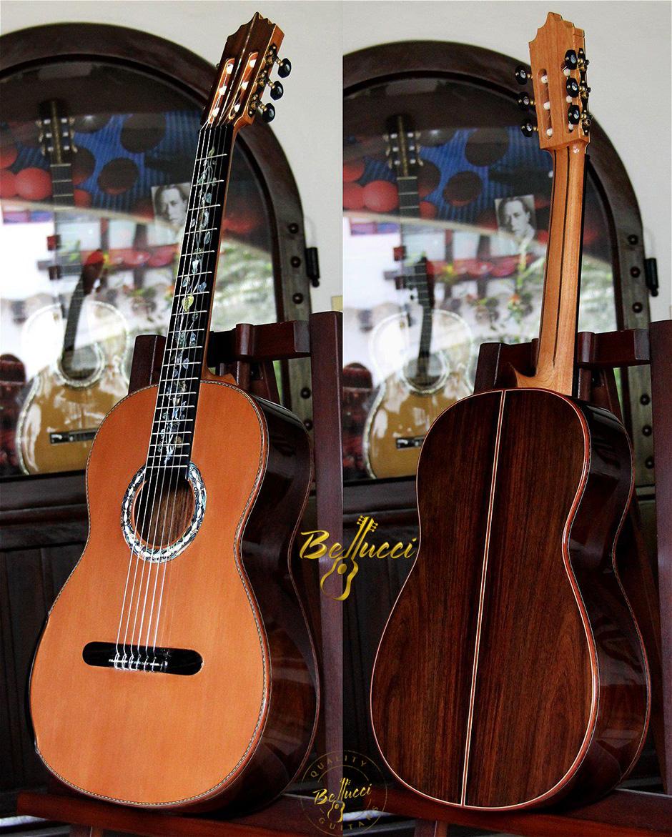 Bellucci Indian rosewood B&S, Cedar Top, MODEL. BCCD-01