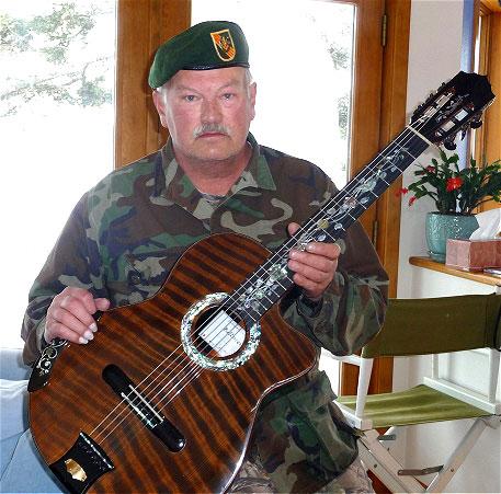Gary, Green Beret