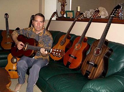 Mangore Bellucci Guitars The Zorro Blackwood B Amp S