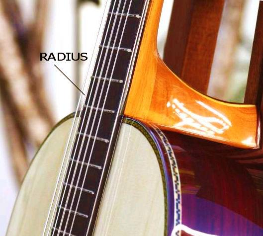 The Radiuses fingerboard