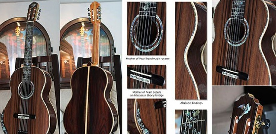 Brazilian Rosewood B&S Sinker Redwood Top