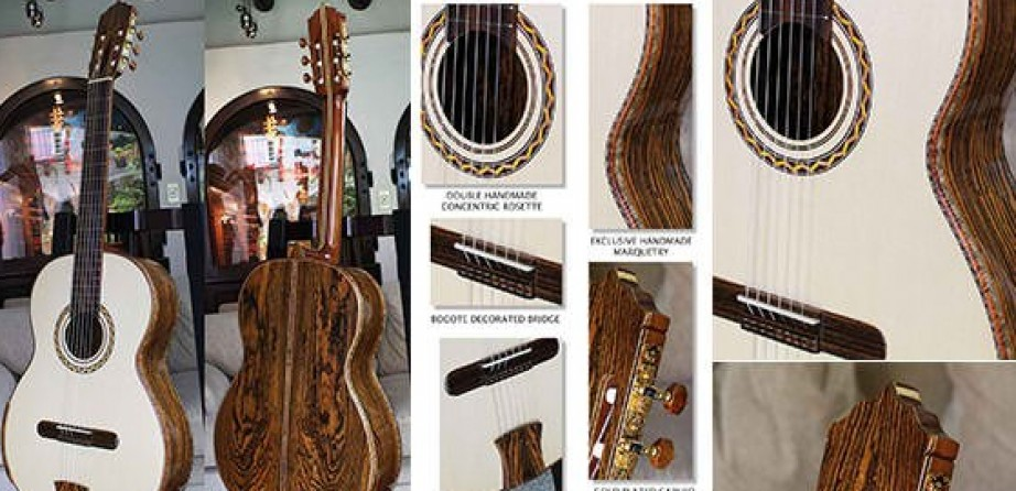 Highly Figured Bocote B&S, Alpine Spruce Top