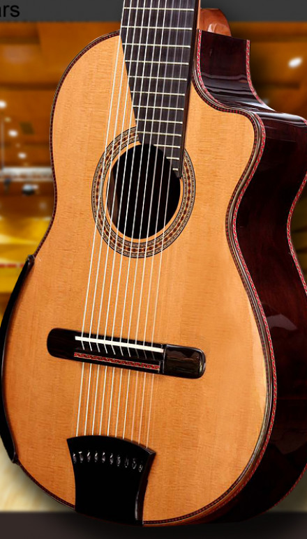 10-Strings Cedar Top Concert Classical Guitar