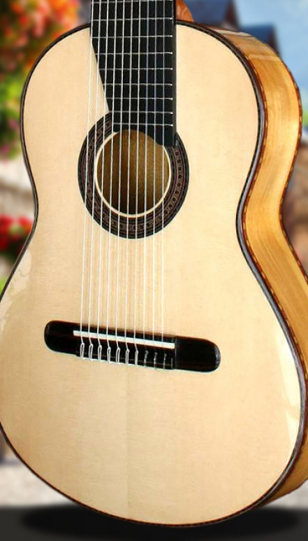 10-Strings Flamenco Concert Classical Guitar