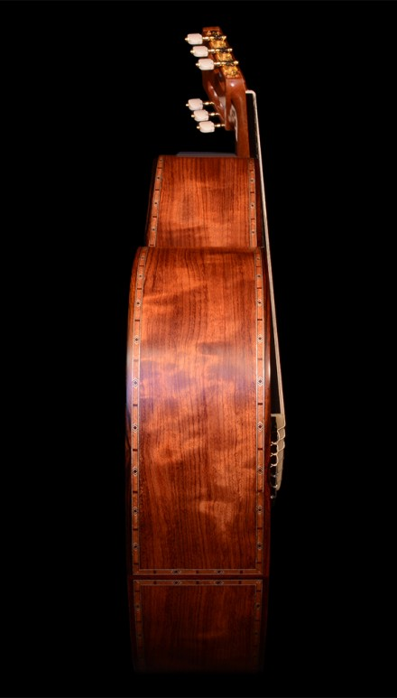 Waterfall Bubinga B&S, Spanish Cedar top Concert Classical Guitar