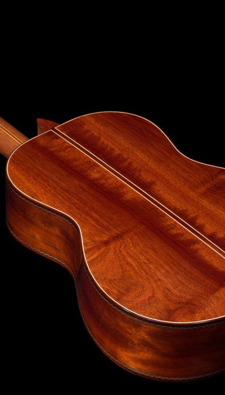 Bloodwood B&S, German Spruce top Concert Classical Guitar