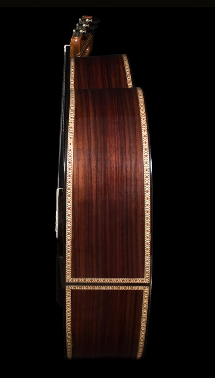 Indian Rosewood B&S, Sinker Redwood Doubletop Concert Classical Guitar