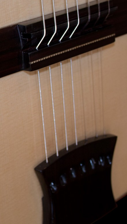 7-Strings Blackwood B&S Doubletop Concert Classical Guitar