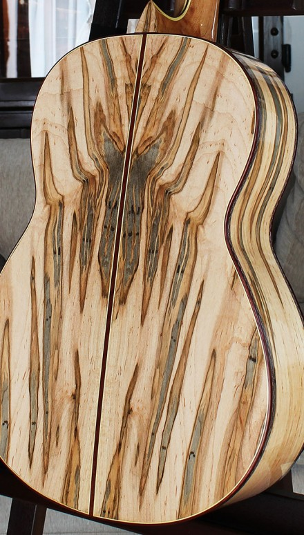 Ambrosia Maple B&S, Cedar top Concert Classical Guitar