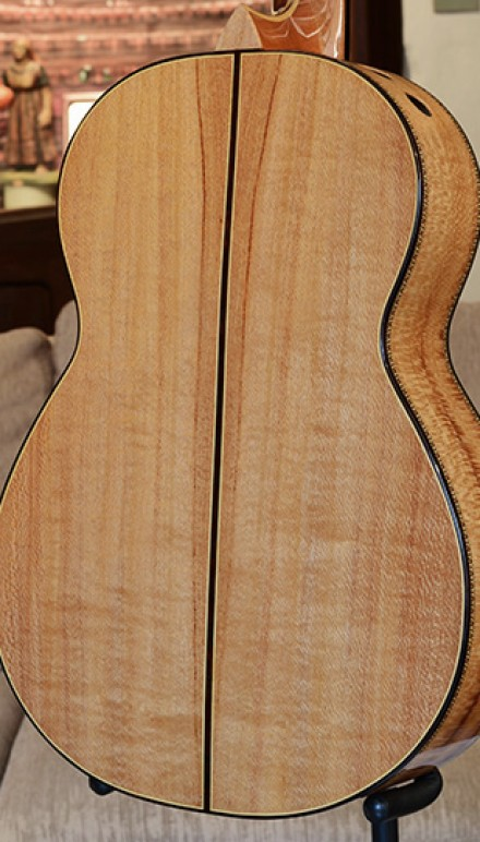 California Laurel B&S Italian Spruce Top Concert Classical Guitar