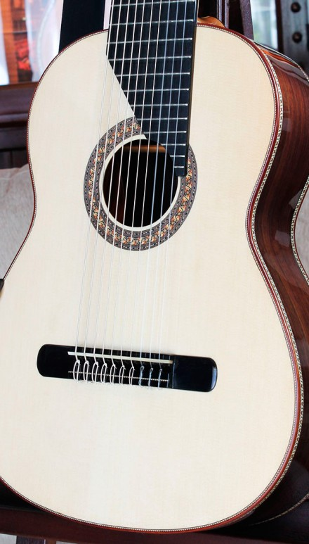 "10 Strings Concert Classical Guitar, ""Yepes"" Model Concert Classical Guitar"