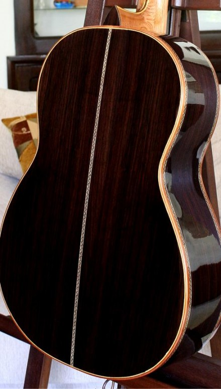 Indian Rosewood B&S Italian Spruce Top Concert Classical Guitar