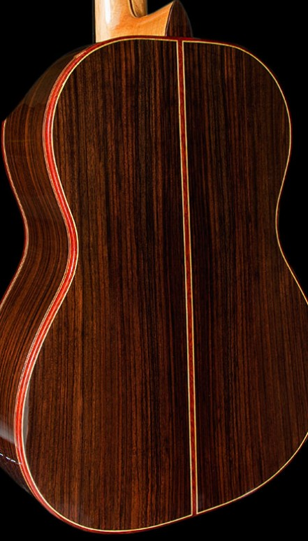 Indian Rosewood B&S, Alpine Spruce Doubletop Concert Classical Guitar