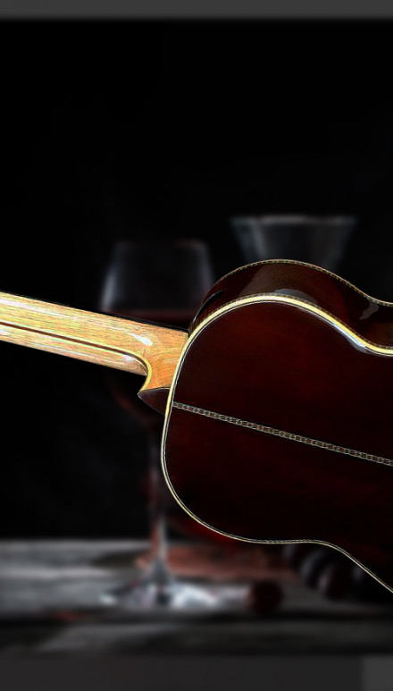 Aged Brazilian Rosewood B&S, Italian Spruce top, Nomex Doubletop Concert Classical Guitar