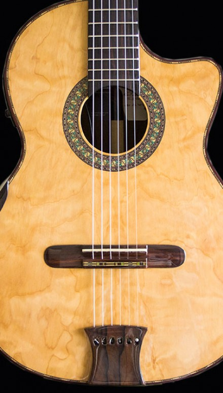 Ziricote B&S, Port Orford Cedar Concert Classical Guitar