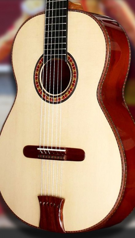 Bloodwood B&S, Italian Spruce top  Concert Classical Guitar