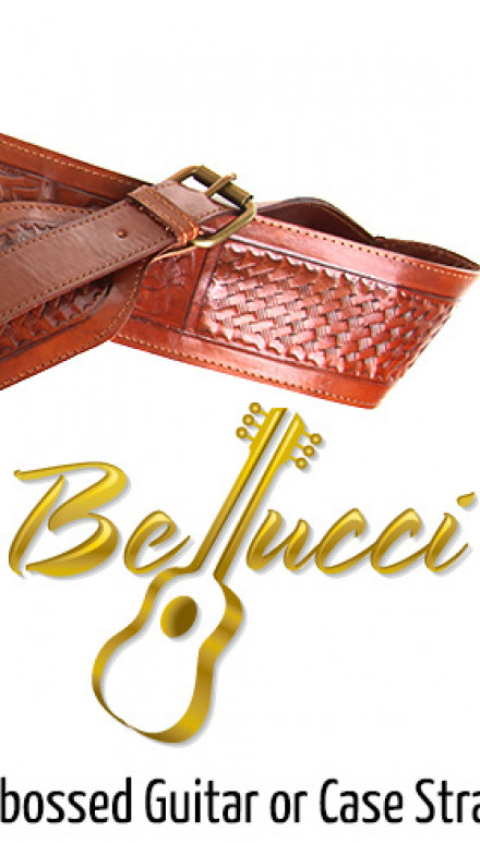 Bellucci Hand Embossed Genuine Leather Cases Concert Classical Guitar
