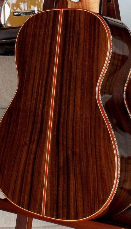 Indian rosewood B&S, Sinker Redwood Top, Doubletop Concert Classical Guitar