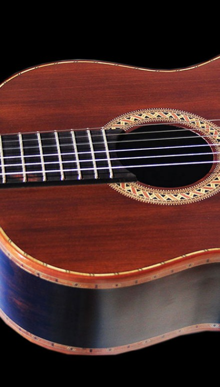 African Blackwood Sinker Redwood Doubletop Concert Classical Guitar