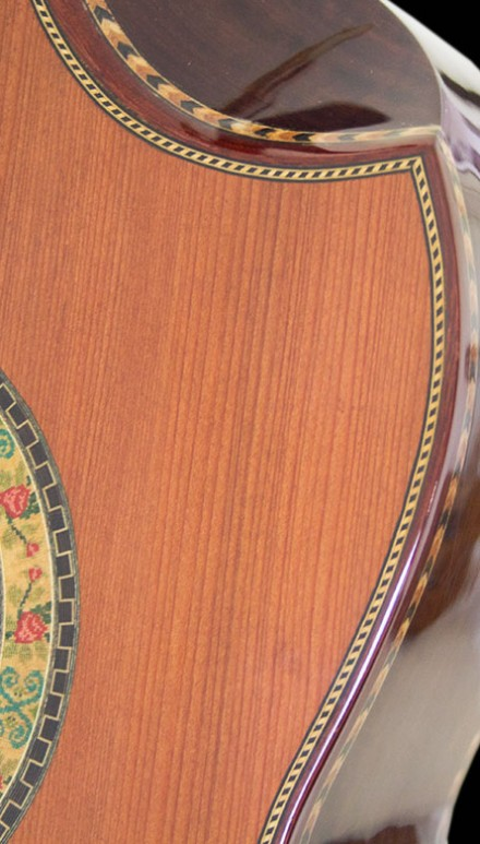 Katalox B&S Redwood Top Concert Classical Guitar